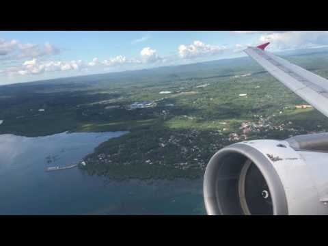 Air Asia Philippines A320 Take Off Tagbilaran (Bohol)
