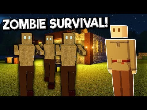 Building a Base & Trying to Survive Against Zombie Hordes! - Colony Survival Gameplay |