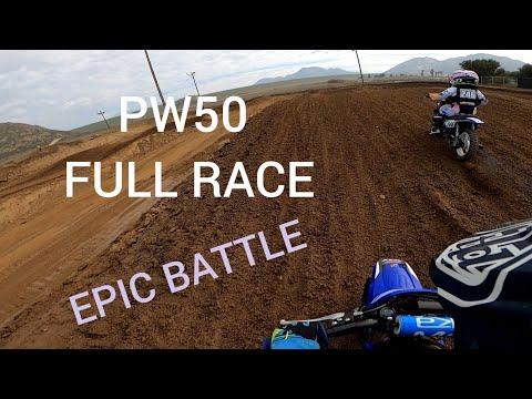 Yamaha PW50 4-6yo RACE EPIC BATTLE(Last Lap Battle) 5 Year Old -QT50 GEAR