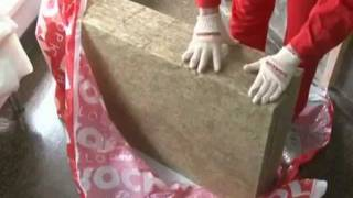 Лайт Баттс - монтаж своими руками(Подробное видео о том, как своими руками профессионально выполнить монтаж базальтовых плит Rockwool Лайт Баттс..., 2012-01-28T16:16:11.000Z)