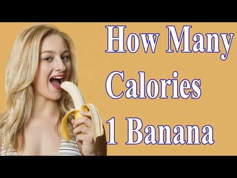How Many Calories 1 Banana Have? BellyFatZone