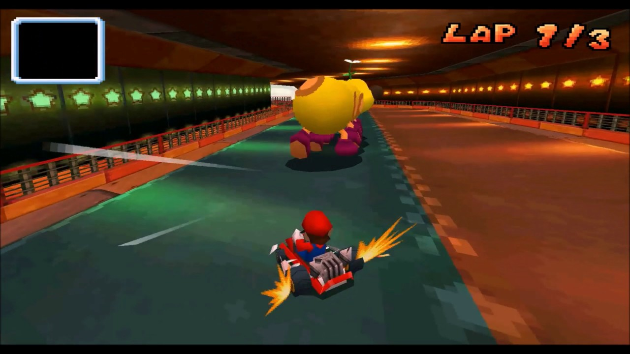 Mario Kart DS: Unused Mission [Early Wiggler Race]