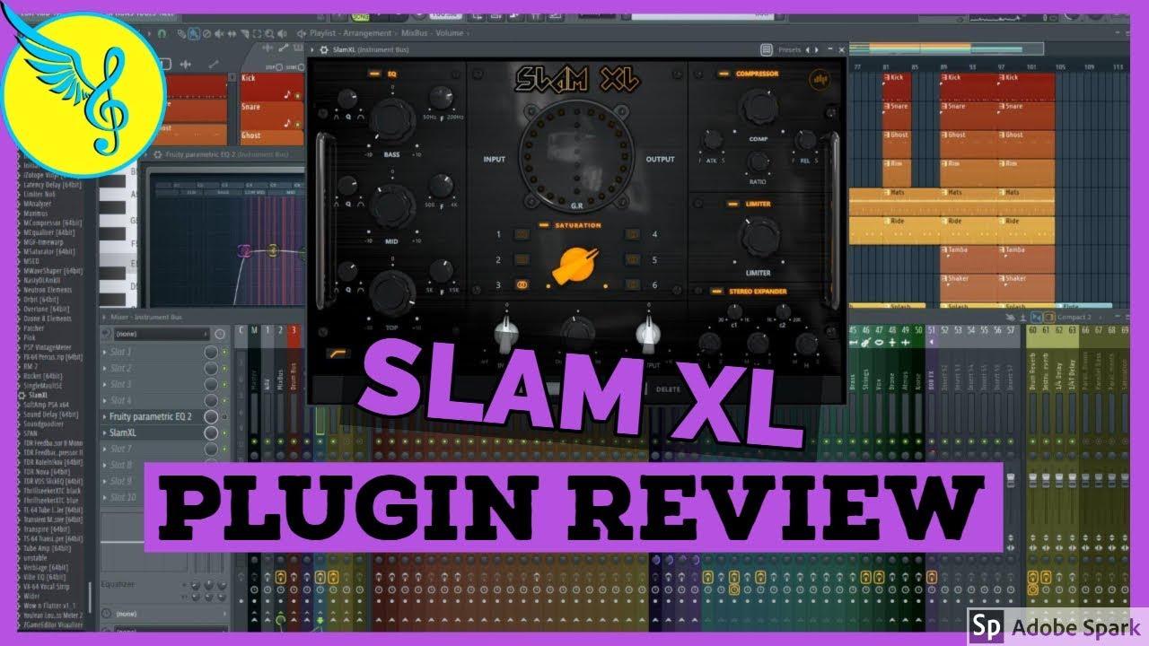 Review: Slam XL Channel Strip Plugin by BeatSkillz