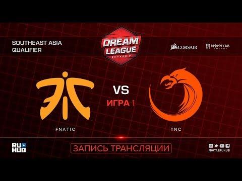 Fnatic vs TNC, DreamLeague SEA Qualifier, game 2 [Mortalles, Autodestruction]