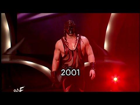 All Kane's entrances Royal Rumble