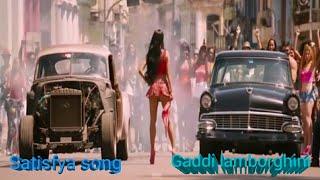 Imran Khan Satisfya song (Car Racing Best scene)