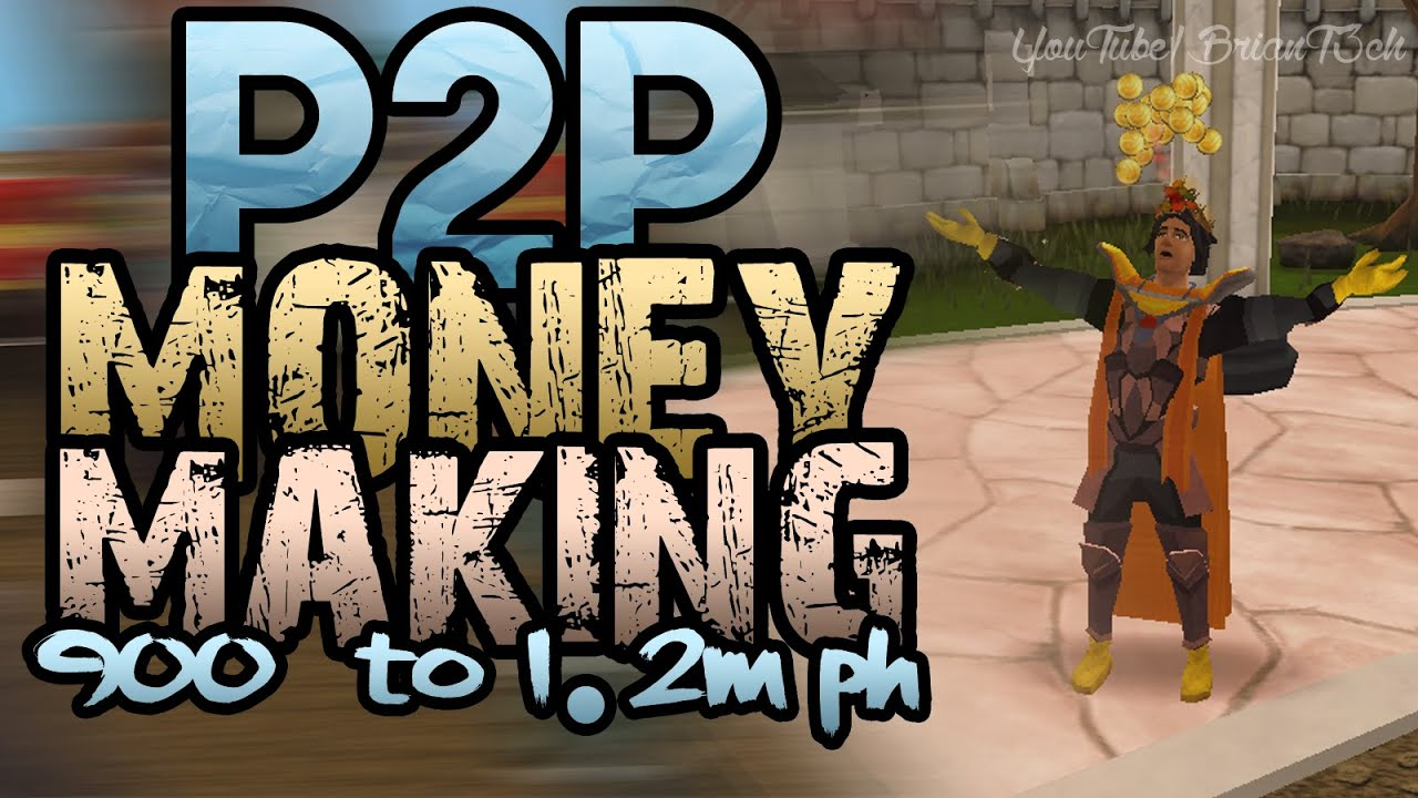 runescape how to make fast money p2p 2016