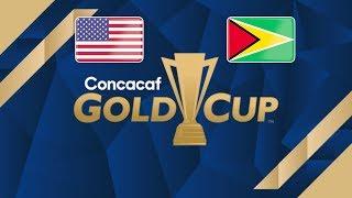 USA vs Guyana - 2019 Gold Cup - Group D - PES 2019