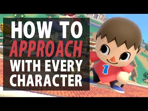 How To Approach With EVERY Character In Super Smash Bros. Ultimate