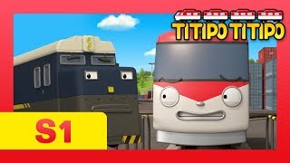 TITIPO S1 EP1 l Titipo 1st Episode l Trains for kids l What happens on first day? l TITIPO TITIPO