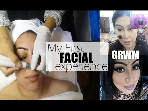 VLOG | Facial + mini GRWM | keepingupwithmona