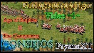 Estrategia Basica para Aprender a jugar BF - Age of Empires II HD The Conquerors (en español)