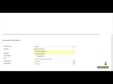 How to Execute Test Automation Using Vortex