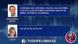 [COMPLETO] Escuta telefônica entre Lula e Eduardo Paes