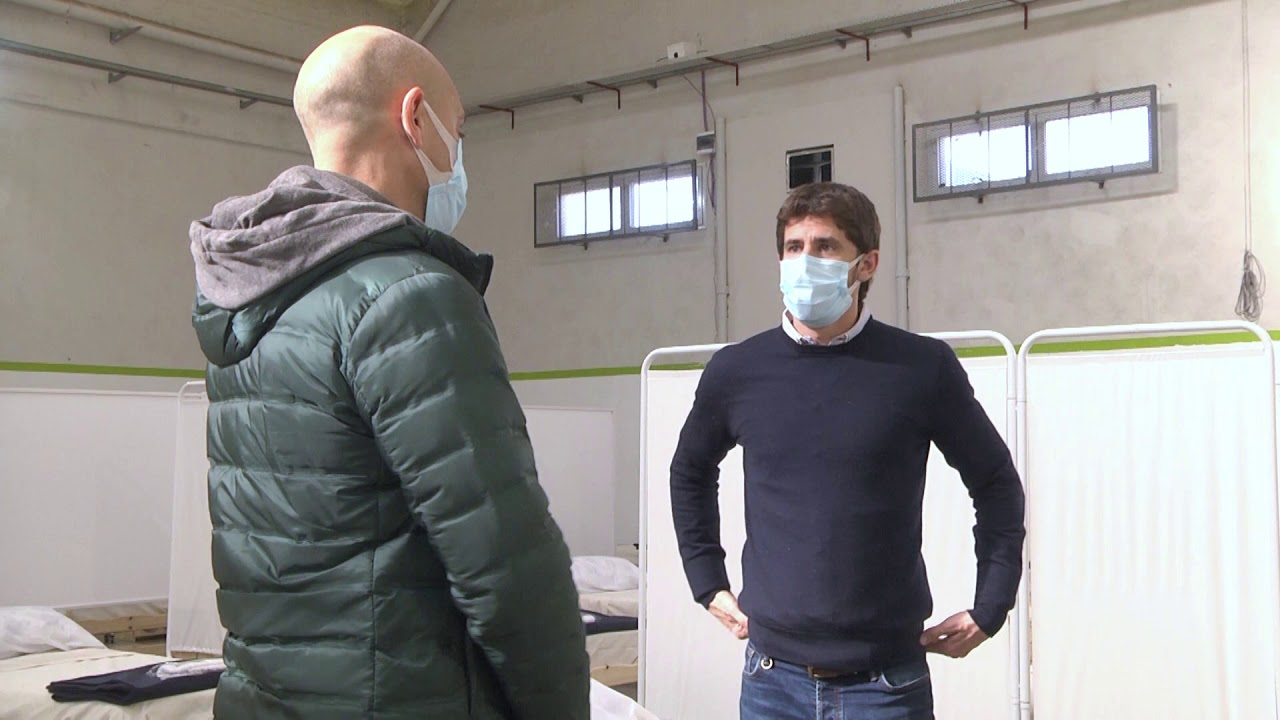 Juan Andreotti supervisó los centros de aislamiento para coronavirus de San Fernando