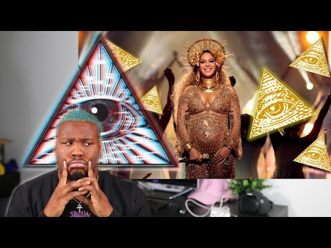 "REACTING TO BEYONCE ""ILLUMINATI"" CONSPIRACIES