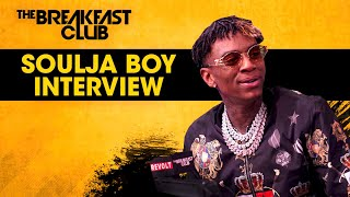 Soulja Boy Talks Why He Took A Break + Life After Last Iconic Breakfast Club Interview