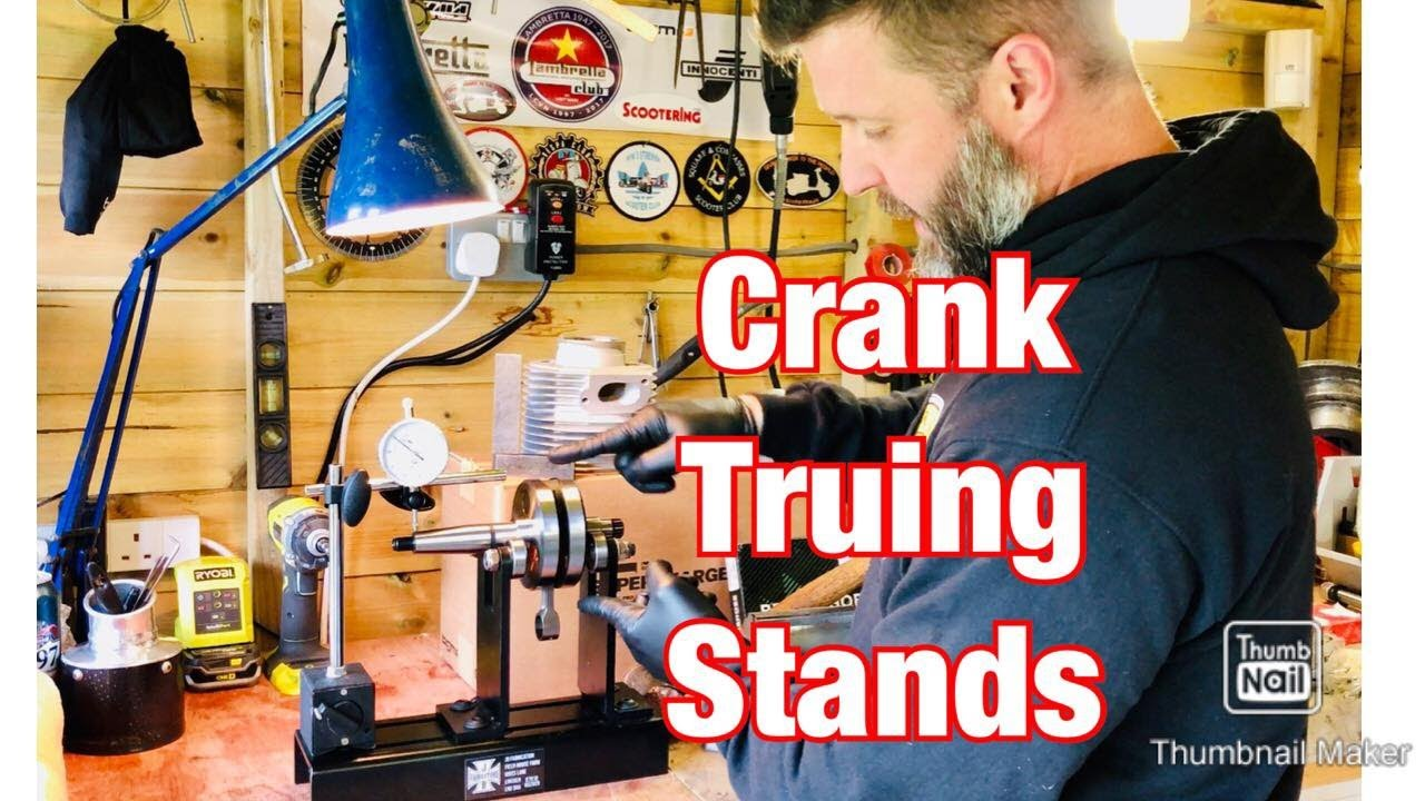 Crank Truing Stand - Vespa & Lambretta Crankshaft Tru Stand - Is your crankshaft fit for purpose?