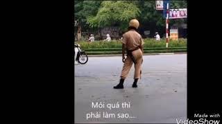 Ảnh chế cảnh sát giao thông