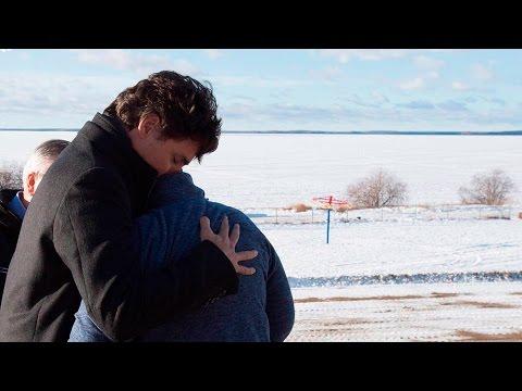 Justin Trudeau arrives in La Loche, Sask