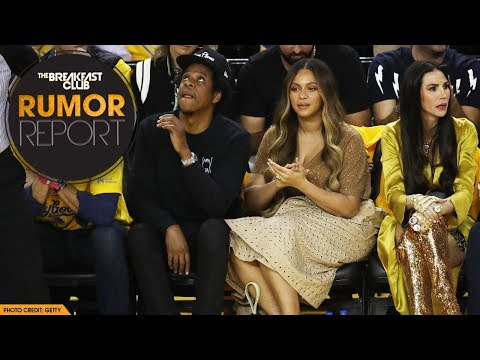 Beyhive Swarms After Nicole Curran Whispers To Jay-Z At NBA Finals