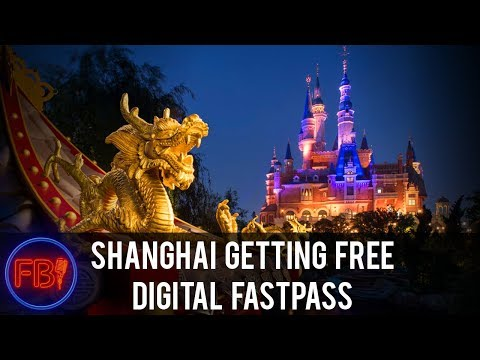 Shanghai getting FREE digital fastpass - Should we be upset?