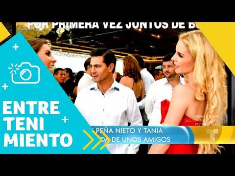 Aparece una nueva foto de Enrique Peña Nieto y Tania Ruiz   Un Nuevo Día   Telemundo