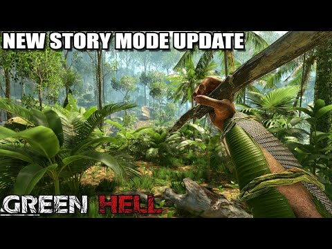 THE NEW STORY MODE UPDATE | GREEN HELL [GAMEPLAY EP1]