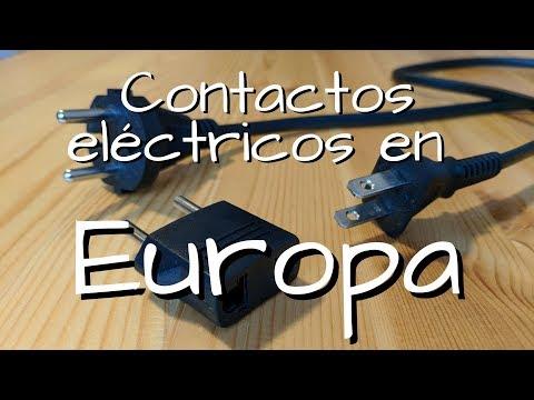 ¿Qué contacto eléctrico se usa en Europa? Cómo conectar tus electrónicos sin quemarlos!