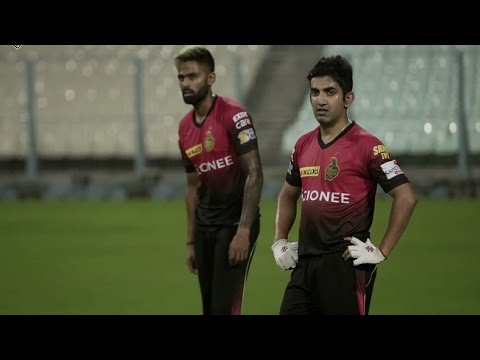 Gautam Gambhir's first day at KKR nets | Inside KKR | VIVO IPL 2017