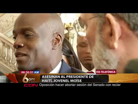 Ex cónsul de Haití sobre muerte de Jovenel Moïse: condenamos la forma en que encontró la muerte