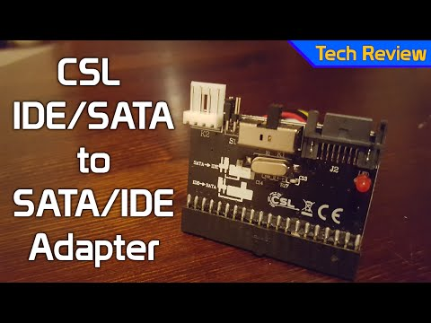 [TechReview] CSL IDE/SATA to SATA/IDE Adapter