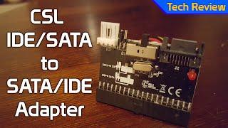 [TechReview] CSL IDE/SATA to SATA/IDE Adapter