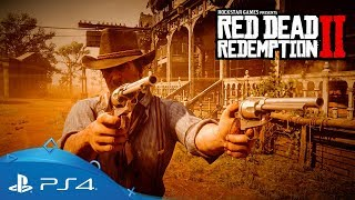 Red Dead Redemption 2 -  Gameplay Trailer [PS4, deutsch]