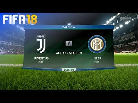 FIFA 18 - Juventus vs. Internazionale @ Allianz Stadium