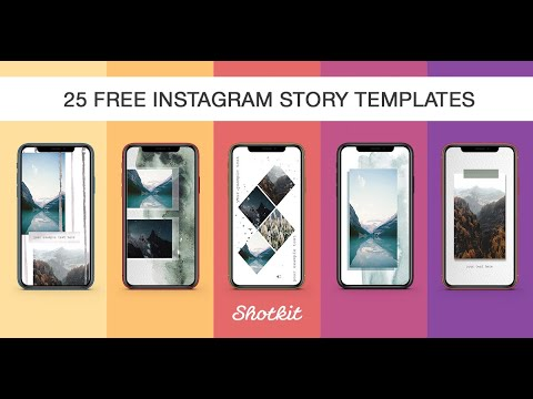 25 Instagram Story Templates | [100% FREE Download]