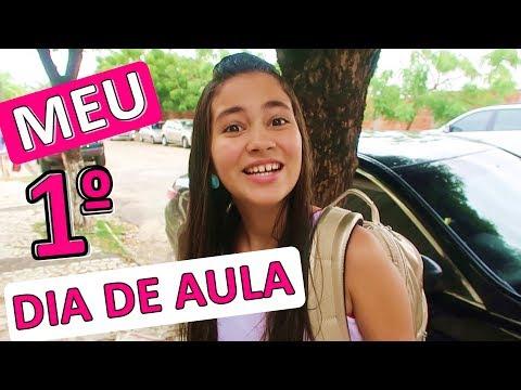 MEU PRIMEIRO DIA DE AULA (REAL) = Bela Bagunça =