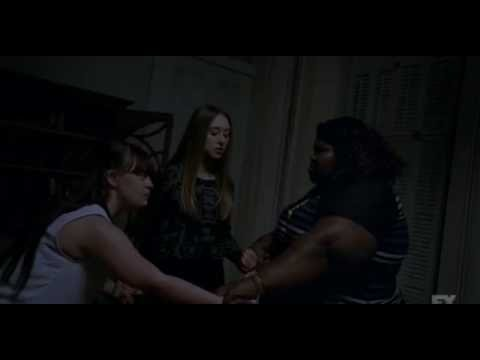 American Horror Story Coven - Zoe Nan And Queenie Release The Axeman