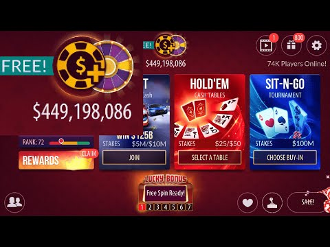 How To Get Unlimited Money On Zynga Poker (No Download)