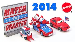 2014 disney pixar cars toon mater the greater die cast cars 3 pack daredevil lightning mcqueen lug