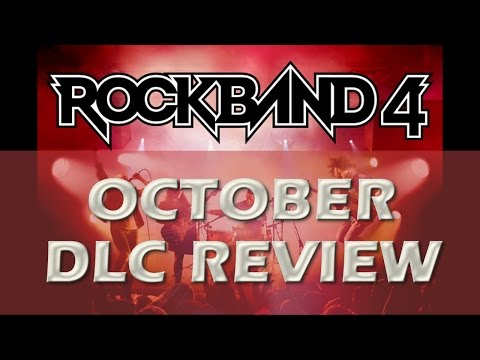 Rock Band 4 October 2015 DLC Song Recap/Review Aerosmith, 80'S Singles & More!