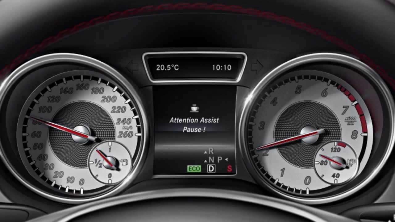 Attention Assist Mercedes Benz M 252 Digkeitsassistent