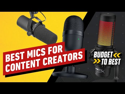 The Best Microphone for your Budget - Cheap to Pro