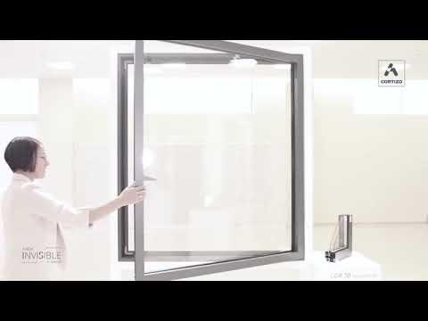 Cortizo Aluminium - COR 70 Hidden Sash Tilt & Turn Window - Unique Windows London Ltd