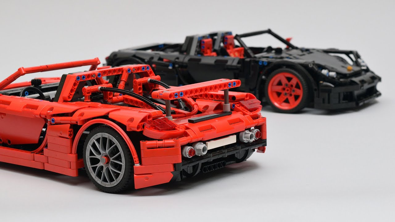 porsche carrera gt lego technic youtube. Black Bedroom Furniture Sets. Home Design Ideas