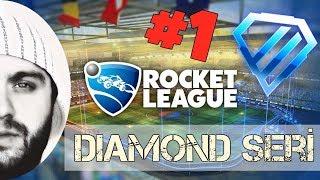 Rocket League : Türkçe - Diamond Serisi #1 || TERTEMİZ !