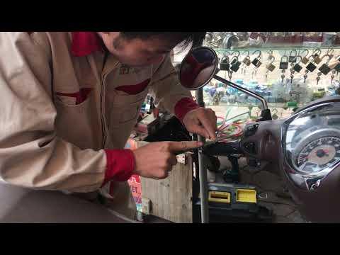 Cách đánh chìa khóa xe SH Mode  SH 125i Đúng kỹ thuật nhất