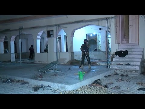 Images of aftermath of Pakistan mosque bombing | AFP