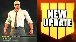(HUGE UPDATE) to Black Ops 4 - New Battle pass & Hudson Skin in Black Ops 4 Blackout