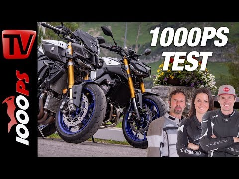 Yamaha MT-09SP vs. MT-10SP - Vergleichstest mit Erfahrungen von der Alpen-Tour